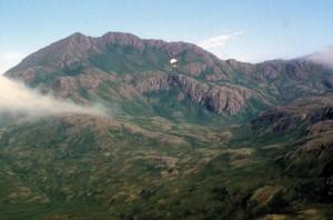 udara, foto, gunung, reed, Adak, pulau, Taman Nasional
