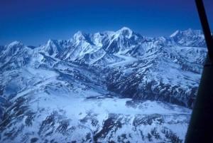 воздушные, Фото, гора, Hayes, гора, Дебора, сторона