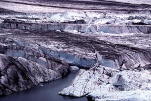 bering, glacier, chugach, montagne