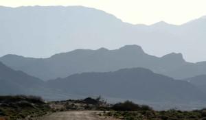bleu, montagnes, cendres, prairies, désert, refuge
