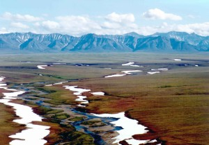 ruisseaux, gamme, montagnes, scenics