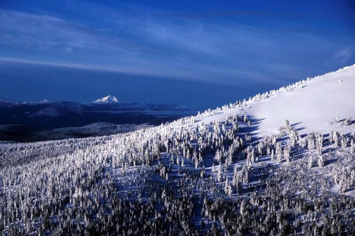 cascade, mountain, range, Oregon