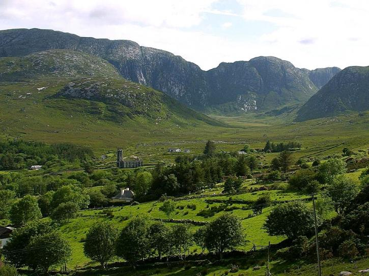 dunlewy, mountains, Ireland