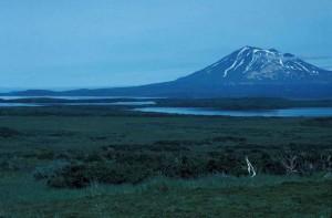 lac, Becharof, Peulik, Alaska, péninsule