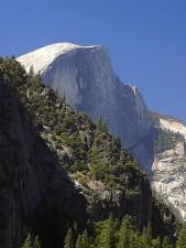 montagne, dôme, Yosemite, ruisseaux