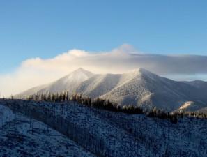 montagne, le gel