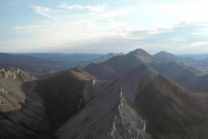 montagne, sommet, pittoresque
