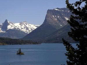mountains, glacier, parks