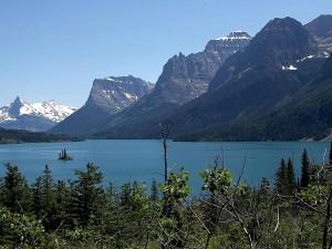 mountains, Montana, glacier, park