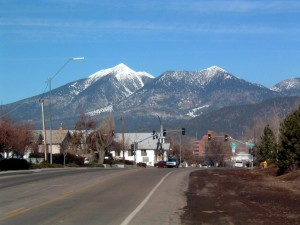 Fransisco, mountains, looking, flagstaff