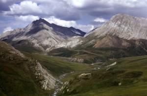 Verano, el paisaje, las montañas