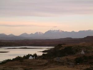 Cuillin, fjellene, Isle of skye, Skottland