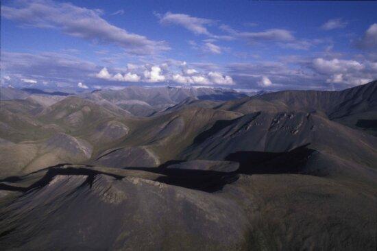 mountains, peaks, nature, Alaska