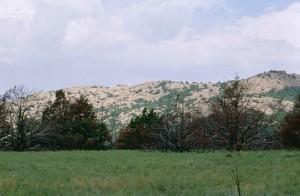 wichita, montagnes, national, réserve, scénique