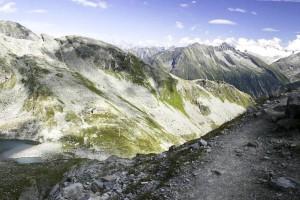 invierno, montaña, foto