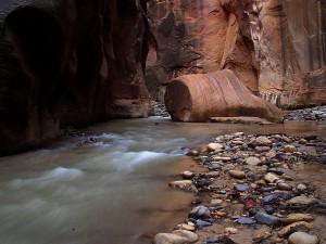 zion, narrows, river