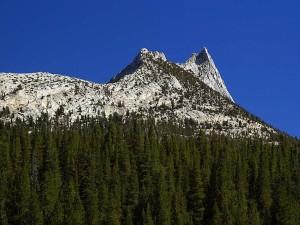 cathédrale, pic, Yosemite, parc