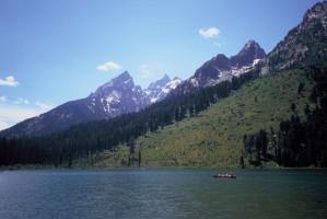 grand, Teton, parc national, scenics