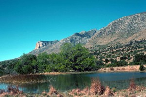guadalupe, montagnes, parc national