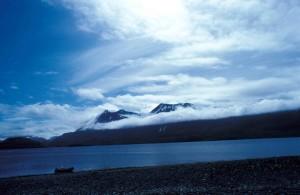 kodiak, mountains, beach