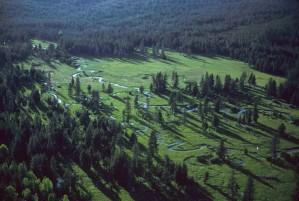 long, ruisseau, Oregon