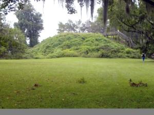 santee, Indian, mound