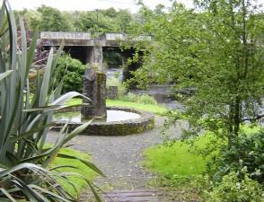 vallée, parc, monument, piscine