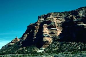 Zuni, reservation, native, amerikansk, område