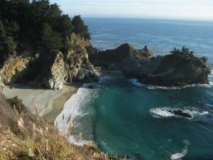 big, ocean, cove