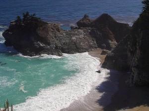 mcway, falls, ocean, surf