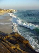 moře, pláž, krajina