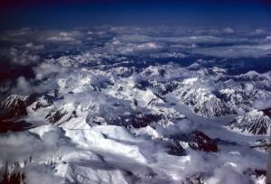 Alaska, phạm vi, quan điểm trên không