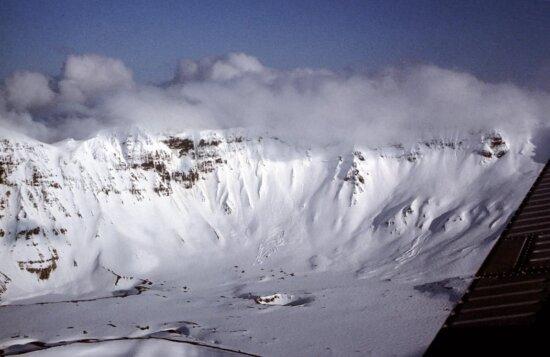 aniakchak, caldera