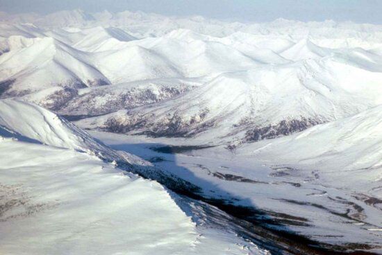 frosty, high, mountain, peaks, scenics