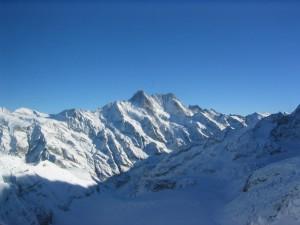 núi, đỉnh núi, tuyết