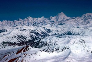 mountain, range