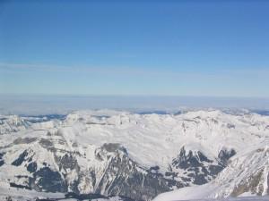 peak, snow
