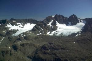 peaks, snow, mountain, glacier, region
