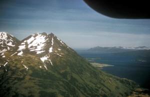 snowy, mountain, peaks, scenics