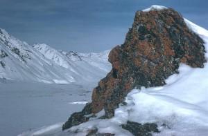 winter, peaks
