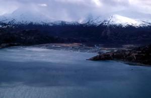 winter, snowy, peaks