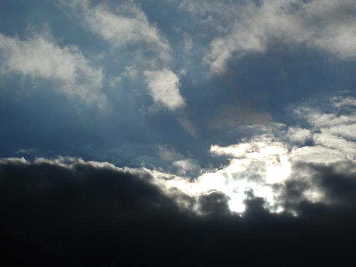 rain, clouds, sky, weather