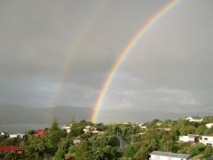 double, rainbow
