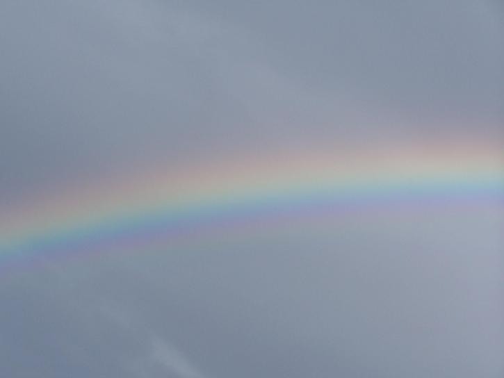 rainbow, sky
