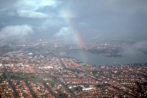 rainbow, Sydney, Australia