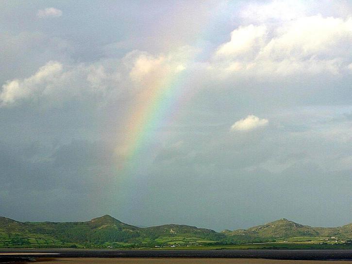 sky, rainbow