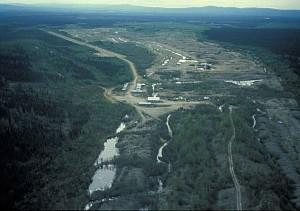 антенна, река, россыпи, шахта