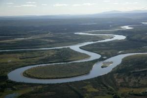 alatna, Koyukuk, river, confluence, Allakaket