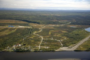 allakaket, old, village, site, Koyukuk, river