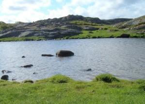 archipelago, rocks, water